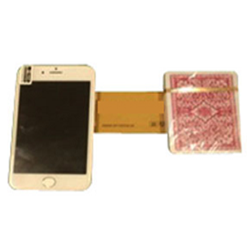 I-Phone Playing Card Device